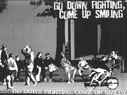Go Down Fighting Come Up Smiling comp CD
