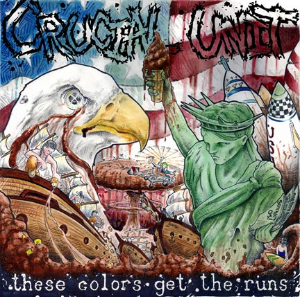 These Colors Get The Runs LP